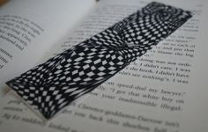 Hand Drawn Doodle Bookmark by hippiescreations on Etsy, $2.00