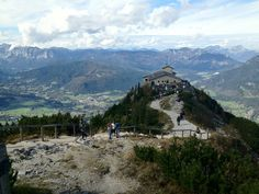 Looking down on Hitler's Eagle's Nest in Berchtesgaden, Germany - Imgur