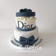 26 Birthday Cake, Elegant Birthday Cakes, Beautiful Birthday Cakes, 26th Birthday, Mad Hatter Cake, Chanel Cake, Lion Cakes, Big Wedding Cakes, 50th Cake