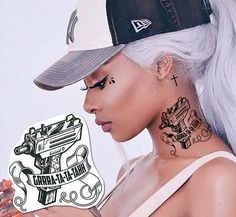 Post Malone Tattoo - Rockstar Uzi • Gun, Thug Temporary Tattoo, Gifts for Teens, Cool Gift Adults, Cool Costume, Fake Tattoo, Gifts for Boys