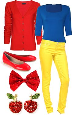 """Snow White Modem Outfit #1"" by iwantfd ❤ liked on Polyvore"