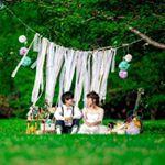 いいね!43件、コメント1件 ― プレ花嫁 ばんび/ウエディング専用さん(@bambi_wedding)のInstagramアカウント: 「また、公園前撮りシリーズ!おやすみなさいポーズ。 #marry #weddingphoto #前撮り #ロケーション前撮り #セルフ前撮り #diy #diyウェディング #リボンカーテン…」