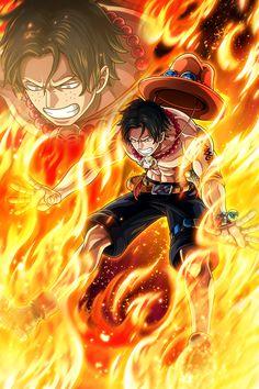 Ace One Piece, One Piece Comic, One Piece Luffy, One Piece Wallpaper Iphone, Anime Wallpaper Live, Monkey D Luffy, Roronoa Zoro, Walpaper One Piece, Manga Anime One Piece