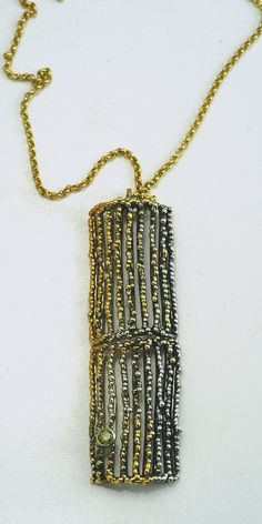 Pendant Antidote Iosif with ruthenium-gold plated Silver 925. Pendant Code:3381.PD.2035.GO.001