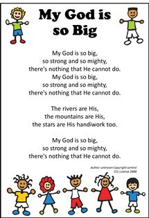 The place to find Messy Church song words and links Childrens Bible Songs, Bible Songs For Kids, Bible Lessons For Kids, Bible Games, Children Songs, Children Church, Sunday School Songs, Sunday School Activities, School Fun