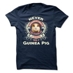 A Woman With A Guinea Pig T-Shirt & Hoodie | DonaShirts.com - Dare To Be Tshirts, Hoodies And Custom