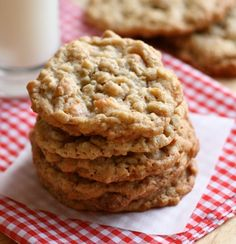 Peanut Butter Coconut Oatmeal Scotchies