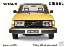 Volvo 244 GL D6 1979 owners manual cover, via Flickr.