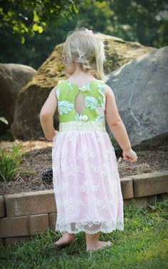 THE MILLY DRESS/Easter Dress/Tea Party Birthday by watermelonseed, $45.00