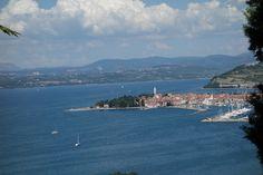 View over Izola, Slovenia