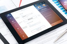 Design UX/UI concept of the future online banking provided by User Experience Design Agency.  Money transfer in 30 seconds: 1. Card-to-card transfers; 2. Domestics and international transfers; 3. Transfers to Mail, Facebook, Twitter contacts; 4. Top up from another bank card; 5. Clear transfer fee. #Ipad #app #mobile.