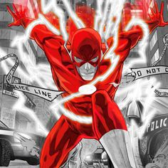 DC in Red: The Flash
