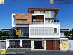 Thiết kế biệt thự 3 tầng tuyệt đẹp tại Nha Trang