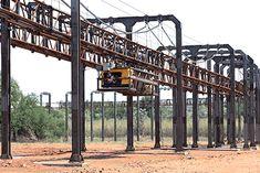 Znalezione obrazy dla zapytania metal beam railroad