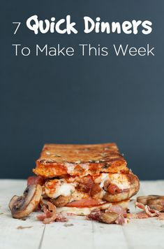 7 Quick Dinners To Cook This Week   #mealplanning #lunch #recipe #easy #recipes