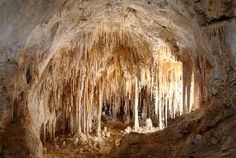 The Carlsbad Caverns in New Mexico are my favorite underground escape.