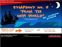 What a great listening map Dvorak's New World, Symphony No. 9! We recommend using this as a music appreciation tool for the classroom.     #teach #music