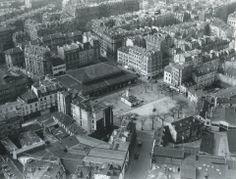 #photo Un beau panorama du quartier de la place d'Aligre en 1951 #PEAV @Menilmuche @ParisHistorique