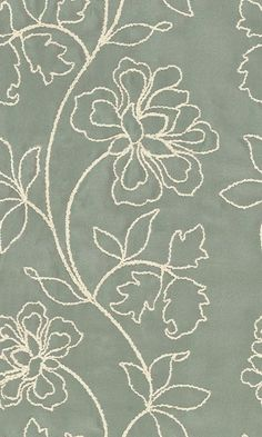 von Schumacher & Co. Phulkari Embroidery, Sashiko Embroidery, Embroidery On Clothes, Embroidery Flowers Pattern, Creative Embroidery, Hand Embroidery Patterns, White Embroidery, Embroidery Stitches, Motifs Textiles