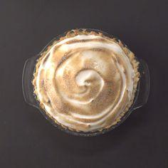 This lemon meringue pie recipe swaps out egg whites with aquafaba (chickpea water) to make it vegan!