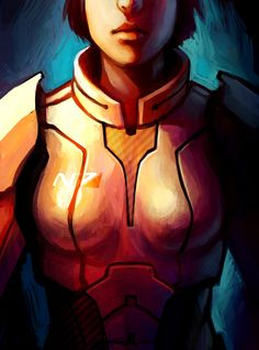 Commander Shepard by TheBoyofCheese.deviantart.com on @deviantART #masseffect #femshep