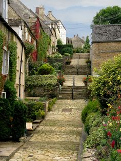 Chipping Steps in Tetbury, UK
