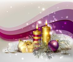 Filename: christmas desktop nexus wallpaper Resolution: File size: 1129 kB Uploaded: Yates Fairy Date: Gold Christmas Wallpaper, Christmas Desktop, 3d Christmas, Purple Christmas, Christmas Candles, Christmas Background, Christmas Balls, Christmas Lights, Christmas Decorations