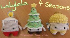 Lalylala 4 Seasons Weihnachten  Anleitung: www.lalylala.com  Arbeit & Bild MEINS ❤