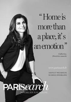 Catherine Nahman, Directrice associée de l'agence PARISEARCH. Une autre vision de l'immobilier : innovation digitale et relation client