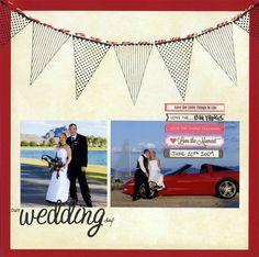 our wedding day - Scrapbook.com