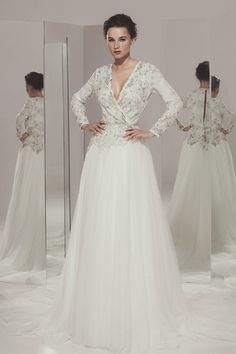 Vestidos de novia media campana