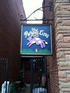 the purple cow- not exactly it.. But I miss The Purple Cow in Little Rock!!!!!
