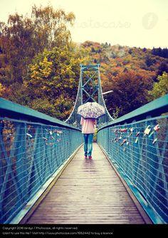 Foto 'Brückenbekenntnisse' von 'birdys'
