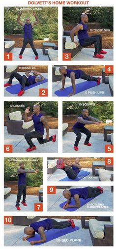 Dolvett's at Home workout