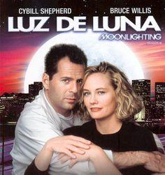 Luz De Luna, la primera serie con tensión sexual no resuelta que recuerdo. Y la primera oportunidad de enamorarse de Bruce Willis.