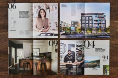 Platform by Aragon Properties - Free Agency Creative Print Design, Graphic Design, Aragon, Brochures, Brochure Design, Vancouver, Typography, Platform, Real Estate