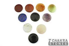 7 Chakra Ten Stone Set