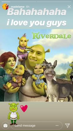 Shrek Forever After - Storytime for Kids - Interactive Storybook Riverdale Quotes, Bughead Riverdale, Riverdale Funny, Stupid Funny Memes, Funny Relatable Memes, Hilarious, Shrek, Glee, Mike Mitchell