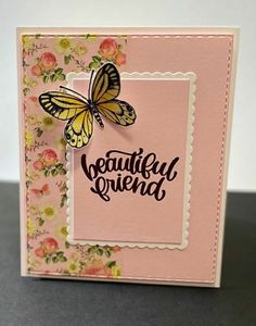 Simon Says Stamp, Card Kit, Butterflies, Ss, Card Making, June, Cards, How To Make, Inspiration