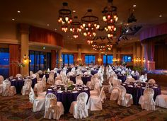 The Monarch Room with its historic ambiance that can be dressed to any occasion, a stage, a dance floor is hard to beat for a location.