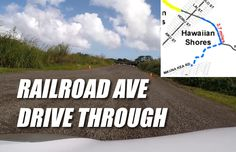 A real-time drive on the Railroad Avenue, filmed with a GoPro camera, mixed with full remarks by county officials at the blessing ceremony.