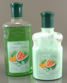 Bath & Body Works Cucumber Melon - I still remember those bottles and scent!