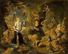 The Temptation of St. Anthony by Matheus van Helmont