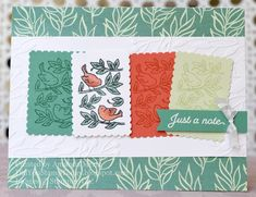 Posted for Birds - Stampin' Up! Posted for You