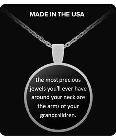The Most Precious Jewels - Round Necklace precious-jewels-grandkids