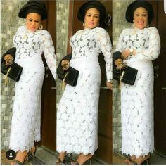 Stunning Ways To Rock Iro and Buba Style This Summer. African Lace Styles, African Lace Dresses, African Fashion Dresses, African Attire, African Wear, African Women, Ghana Fashion, Nigerian Lace, Aso Ebi Styles