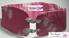 Pink Fabric Belt by teeesdesigns on Etsy, $15.00
