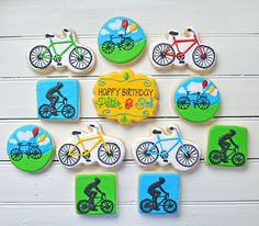 Bicycle Cookies - Ralph & Co. Confections