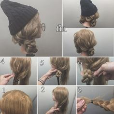 4 DIY Gifts for your Beauty Obsessed Friend 4 DIY Gifts for your Beauty Obsessed Friend Beanie Hairstyles, Pretty Hairstyles, Braided Hairstyles, Hair Arrange, Hair Dos, Hair Designs, Hair Hacks, Hair Trends, Hair Inspiration