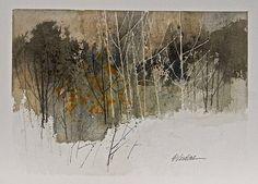 E A Verdine - Utah watercolorist